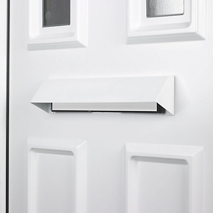 Image for Yale Security Letterplate - White from StoreName