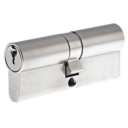 Image for Yale Kitemarked Euro Double Cylinder - 35:10:35 (80mm) - Nickel Finish from StoreName