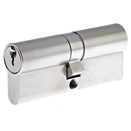 Image for Yale Kitemarked Euro Double Cylinder - 45:10:45 (100mm) - Nickel Finish from StoreName