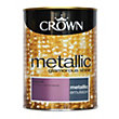 Crown Fashion For Walls Dazzle - Metallic Emulsion Paint - 1.25L