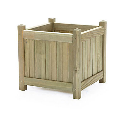 wooden bay tree planter large. Black Bedroom Furniture Sets. Home Design Ideas