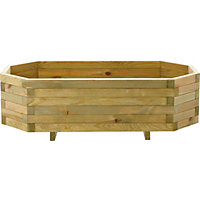Image for Trough Hex Wooden Garden Planter from StoreName