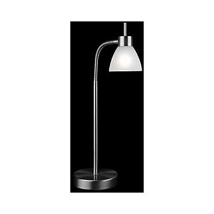 Image for Strasbourg Touch Activated Desk Lamp - Chrome Effect/Glass - 27cm from StoreName