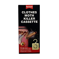 Rentokil Clothes Moth Killer Cassette (Pack of 4)
