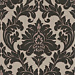 Superfresco Easy Paste the Wall Majestic Wallpaper - Black and Gold