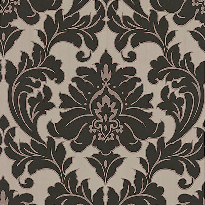Image for Superfresco Easy Paste the Wall Majestic Wallpaper - Black and Gold from StoreName