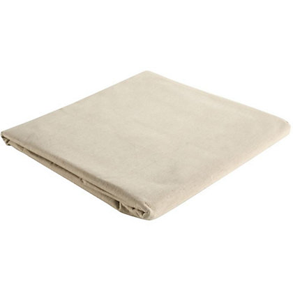 Image for Homebase Performance Cotton Dust Sheet  - 3.6 x 2.7m from StoreName