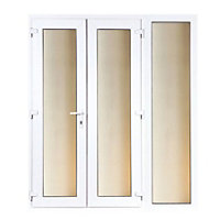 Model 5 French Door set and 1 Wide Sidelite - 2090mm Wide 2090mm High