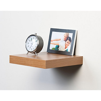 Image for Display Shelf - Knotty Oak - 25cm from StoreName