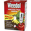 Weedol Rootkill Plus Liquid Concentrate Weedkiller 6 Tubes - 150ml