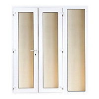 Model 6 French Door set and 1 Wide Sidelite - 2390mm Wide 2090mm High