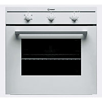Indesit FIM21K.BWH 60cm Single Built-In Electric Oven - White