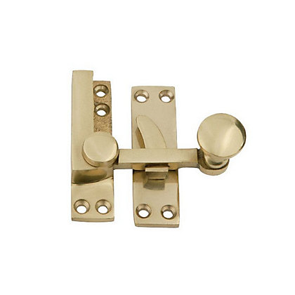 Image for Beehive Sash Window Latch - Polished Brass from StoreName