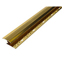 Vitrex Carpet to Laminate Cover Strip Gold 1.8m (L)
