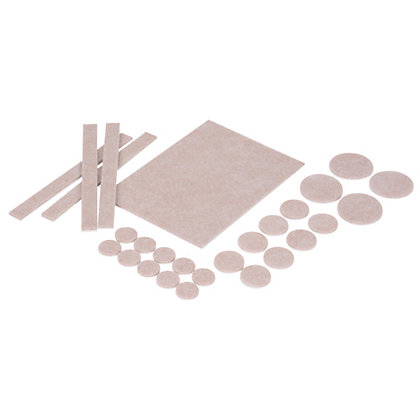 Image for Vitrex Self Adhesive Felt Pads from StoreName