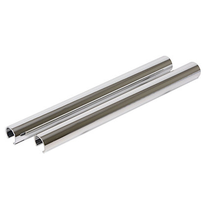 Image for Vitrex Silver Plastic Pipe Covers from StoreName