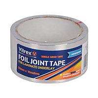 Vitrex Foil Tape for Laminate Underlay - 480mm x 10m