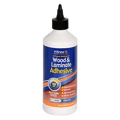 Image for Vitrex Wood and Laminate Adhesive - 500ml from StoreName