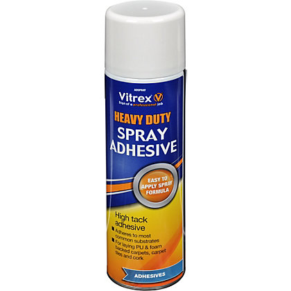 Image for Vitrex Spray Adhesive - 500ml from StoreName