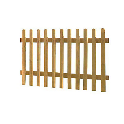 Image for Forest Pale Wooden Fence Panel from StoreName