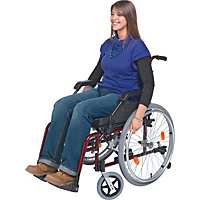 Deluxe Aluminium Self Propelled Wheelchair