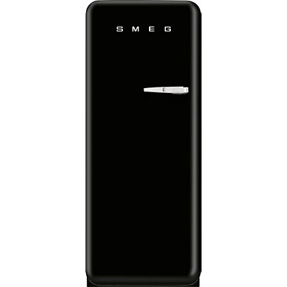 Image for Smeg FAB28QNE1 Right Hand Hinged Fridge with Ice Box - Black from StoreName