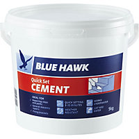 Blue Hawk Quick Set Cement Bucket - 5kg
