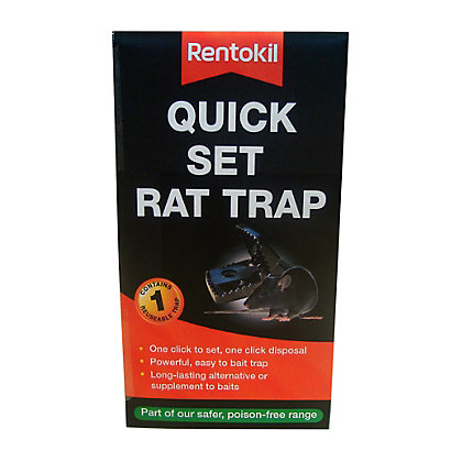 Image for Rentokil Quick Set Rat Trap from StoreName