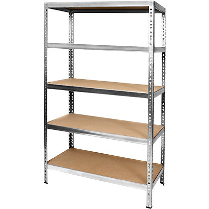 Image for File/Dossier 5 Tier Metal Shelving Rack from StoreName