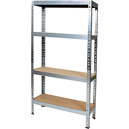 Image for Small Metal Shelving Rack - Freestanding from StoreName