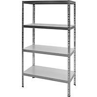 Galvanised Metal Shelving Rack - Freestanding