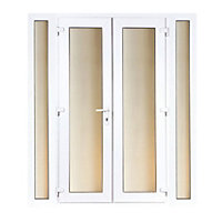 Model 4 French Door set and 2 Narrow Sidelites - 1790mm Wide 2090mm High