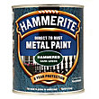Hammerite Direct To Rust Hammered Dark Green Metal Paint - 750ml