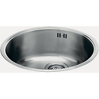Carron Phoenix Carisma 400 Round Undermount Kitchen Sink - 1 Bowl