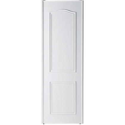 Image for White Cathedral Arch Sliding Door - 914mm from StoreName