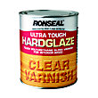 Ronseal Hardglaze Interior varnish Clear - 750ml