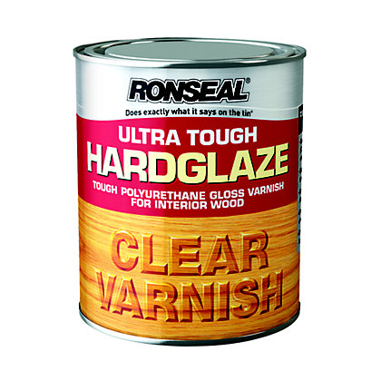 Image for Ronseal Hardglaze Interior varnish Clear - 750ml from StoreName