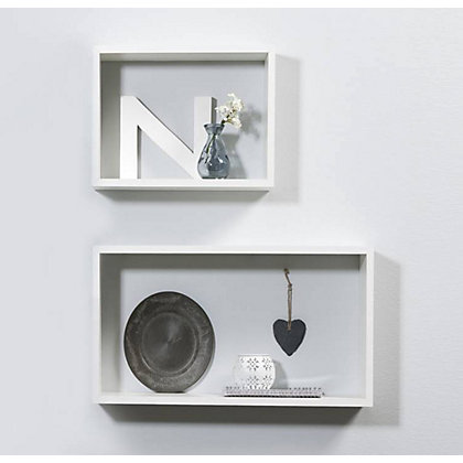 Image for Duraline Double Cube - White PVC from StoreName