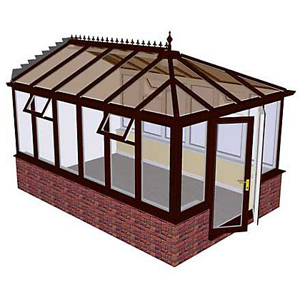 diy conservatories low conservatory prices costs. Black Bedroom Furniture Sets. Home Design Ideas