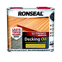 Ronseal Ultimate Protection Decking Oil - Natural Pine - 2.5L