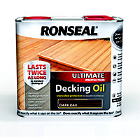 Ronseal Ultimate Protection Decking Oil - Dark Oak - 2.5L