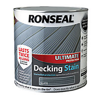 Ronseal Ultimate Protection Decking Stain Slate - 2.5L