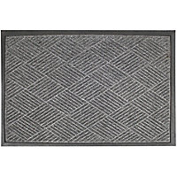 Small Barrier Doormat Grey 40x60cm
