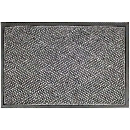 Image for Small Barrier Doormat Grey 40x60cm from StoreName