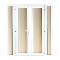 Model 5 French Door set and 2 Narrow Sidelites - 2090mm Wide 2090mm High