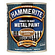 Hammerite Direct To Rust Hammered Copper Metal Paint - 750ml