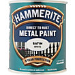 Hammerite Direct To Rust Satin White Metal Paint - 750ml
