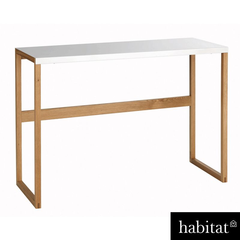Habitat gala glass console table - Table console extensible habitat ...