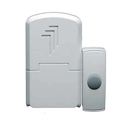 Image for Byron Db301 Wireless Portable Door Chime Kit from StoreName