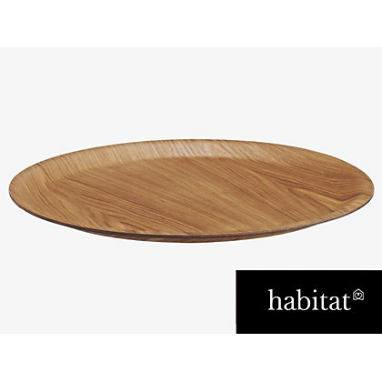 Image for Habitat Natural Dani Tray - 37cm from StoreName